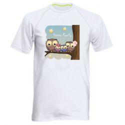 Чоловіча спортивна футболка Happy family