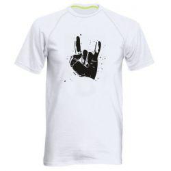 Чоловіча спортивна футболка HEAVY METAL ROCK