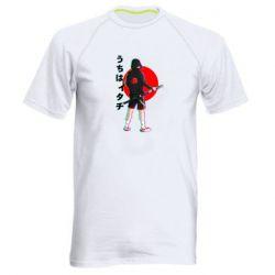 Чоловіча спортивна футболка Itachi in modern clothes