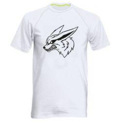 Чоловіча спортивна футболка Kurama line art