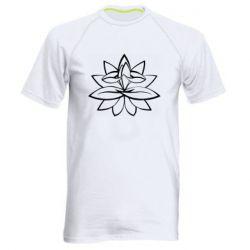 Чоловіча спортивна футболка Lotus yoga