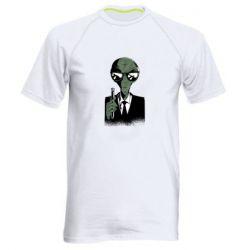 Чоловіча спортивна футболка Люди в черном пародия