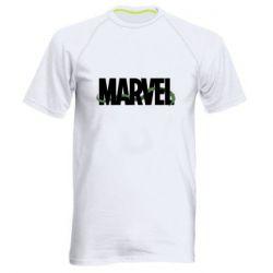 Мужская спортивная футболка Marvel logo and vine