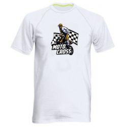 Мужская спортивная футболка Motocross