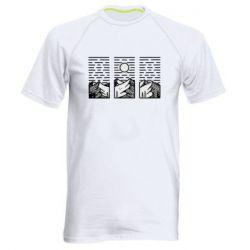 Чоловіча спортивна футболка Mountain sun