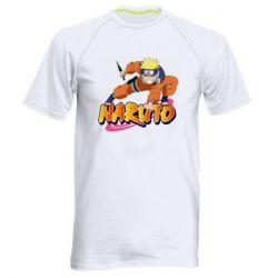 Чоловіча спортивна футболка Naruto with logo