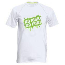 Чоловіча спортивна футболка No Risk No Fun