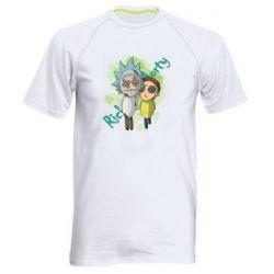 Чоловіча спортивна футболка Rick and Morty voodoo doll