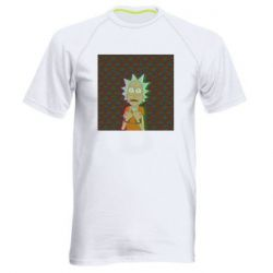 Мужская спортивная футболка Rick Fck Hologram
