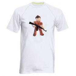 Чоловіча спортивна футболка Roblox Prisoner
