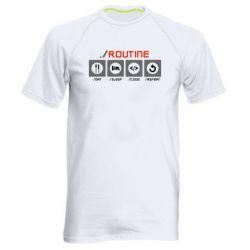 Чоловіча спортивна футболка Routine code