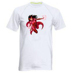 Чоловіча спортивна футболка Scarlet Witch comic art