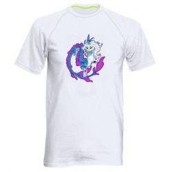 Чоловіча спортивна футболка Sisu Dragon Art