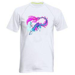 Чоловіча спортивна футболка Sisu Water Dragon