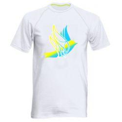 Чоловіча спортивна футболка Україна Ластівка