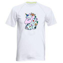Чоловіча спортивна футболка Unicorn Princess