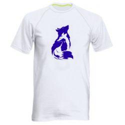 Мужская спортивная футболка Wolf And Fox