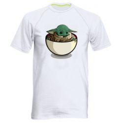 Чоловіча спортивна футболка Йода