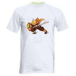 Чоловіча спортивна футболка Zenitsu Demon Slayer