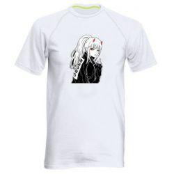 Чоловіча спортивна футболка Zero Two Art
