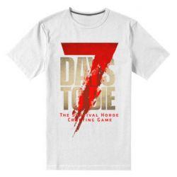 Чоловіча стрейчева футболка 7 Days To Die