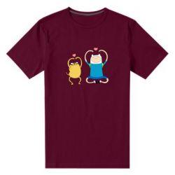 Чоловіча стрейчева футболка Adventure time