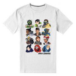 Чоловіча стрейчева футболка Apex legends heroes