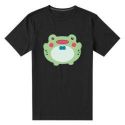Чоловіча стрейчева футболка Baby frog