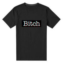 Мужская стрейчевая футболка Bitch glitch