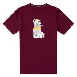 Чоловіча стрейчева футболка Cats
