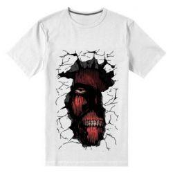 Чоловіча стрейчева футболка Colossal titan