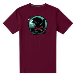 Мужская стрейчевая футболка Cowboy bebop