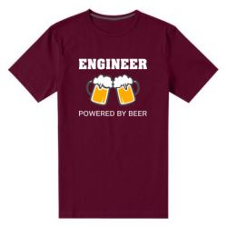 Чоловіча стрейчева футболка Engineer Powered By Beer