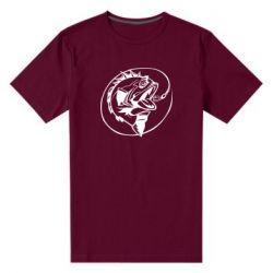 Мужская стрейчевая футболка Evil fish