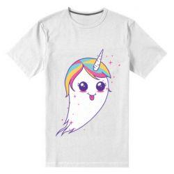 Чоловіча стрейчева футболка Ghost Unicorn
