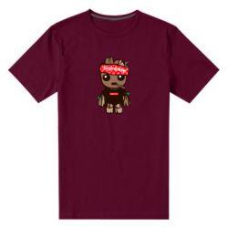 Мужская стрейчевая футболка Groot smokes