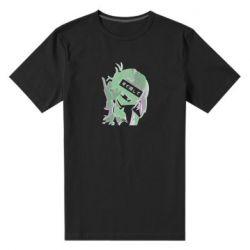 Чоловіча стрейчева футболка Himiko Toga glitch