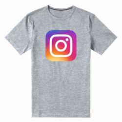 Чоловіча стрейчева футболка Instagram Logo Gradient