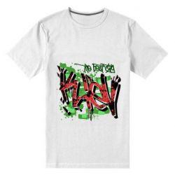 Мужская стрейчевая футболка Kiev graffiti