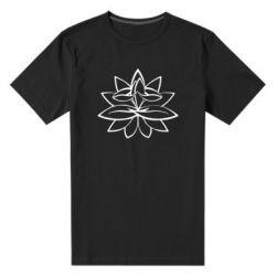 Чоловіча стрейчева футболка Lotus yoga