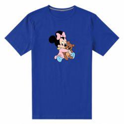 Чоловіча стрейчева футболка Minnie And Bear
