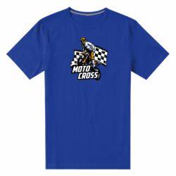 Мужская стрейчевая футболка Motocross