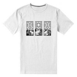 Чоловіча стрейчева футболка Mountain sun