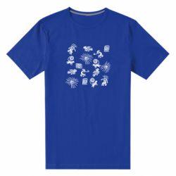 Чоловіча стрейчева футболка Наскальний Живопис