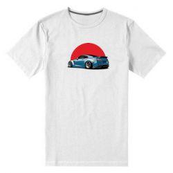 Мужская стрейчевая футболка Nissan GR-R Japan