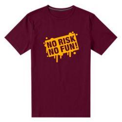 Чоловіча стрейчева футболка No Risk No Fun