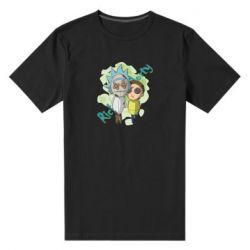 Чоловіча стрейчева футболка Rick and Morty voodoo doll