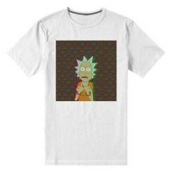 Мужская стрейчевая футболка Rick Fck Hologram