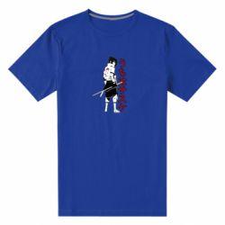 Чоловіча стрейчева футболка Sasuke Art
