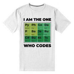 Чоловіча стрейчева футболка Сode  IT